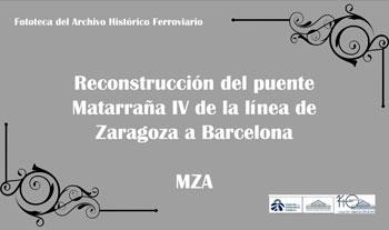 Reconstrucción del puente Matarraña IV