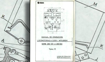 Manual de conducción locomotoras a 3.000 V Mitsubishi