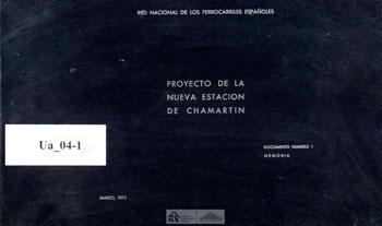 Proyecto de la nueva estación de Chamartín