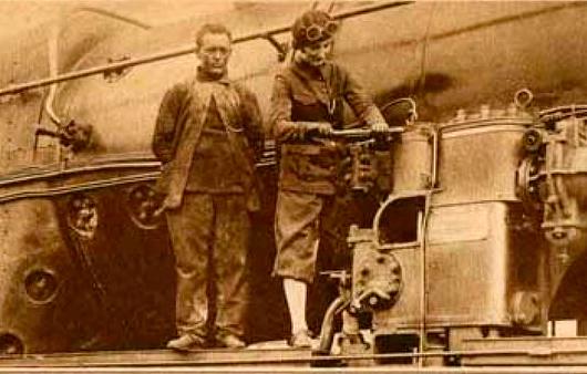 Mujeres del Ferrocarril