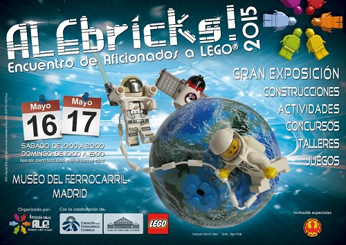 Exposición de maquetas y modelos construidos con piezas LEGO