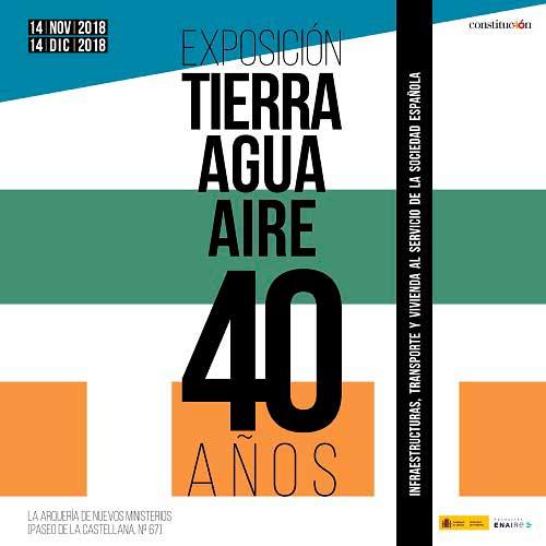 """El Museo presente en la exposición """"Tierra, Agua, Aire: Infraestructuras, transporte y vivienda al servicio de la sociedad española"""""""