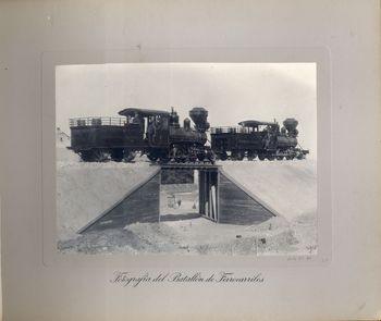 """Pieza destacada del Museo: Álbum fotográfico """"Escuela Práctica del Batallón de Ferrocarriles. 1901"""""""