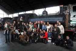 Bombardier celebró su Día en el Museo del Ferrocarril de Madrid