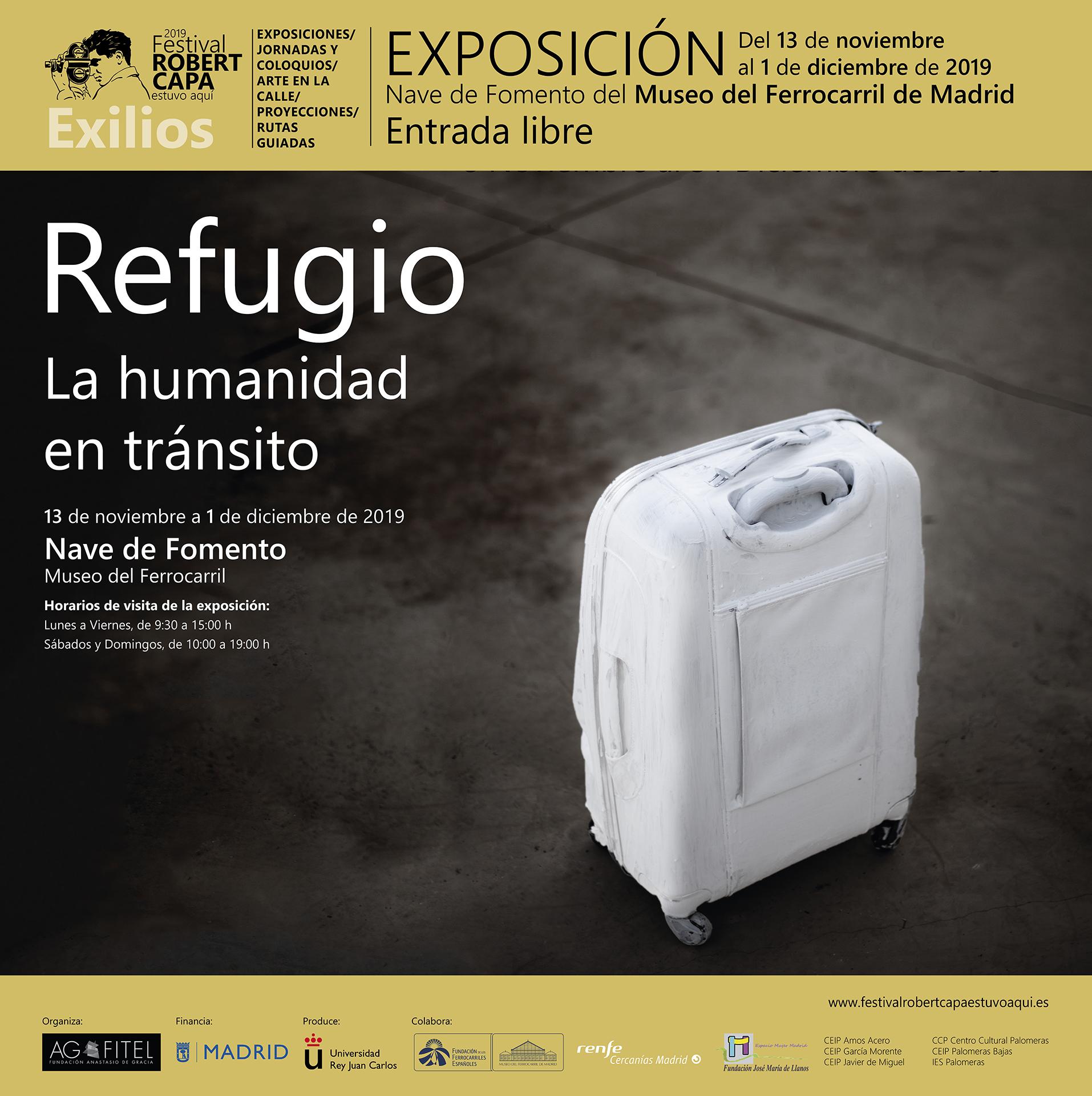 Exposición ´Refugio.La humanidad en tránsito´