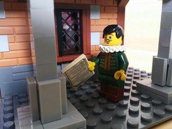 Lego rinde homenaje a Cervantes con una exposición de más de 420.000 piezas en el Museo