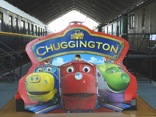 Chuggington llega al Museo del Ferrocarril de Madrid