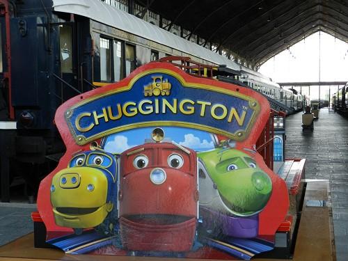 """Los trenes de la serie """"Chuggington"""" vuelven al Museo"""