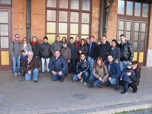 Club Gente Adif visita el Museo