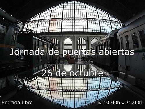"""El 26 de octubre el Museo celebra el """"Día del Tren"""""""