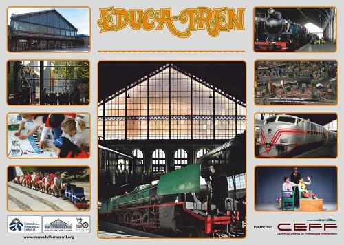 El Museo del Ferrocarril presenta su programa escolar Educa-Tren 2014/2015