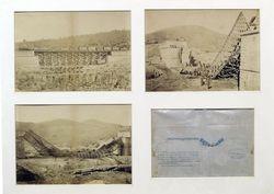 Tres fotografías del Archivo Histórico en el Museo del Carlismo de Estella (Navarra)