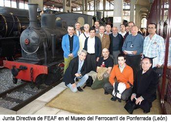 Los asistentes al 54º Congreso de la FEAAF visitan el Museo