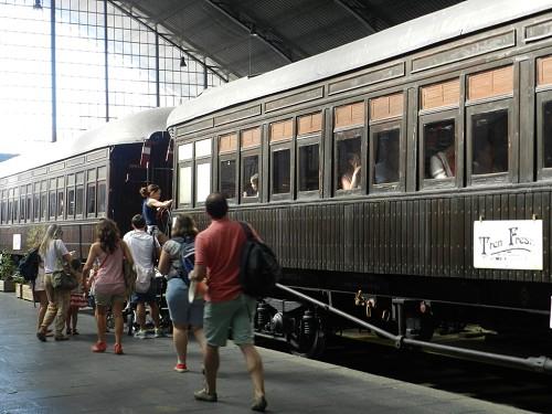 El Tren de la Fresa cierra la campaña de primavera con más de 3.400 viajeros