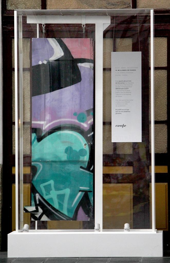 El Museo expone 'La obra más cara'