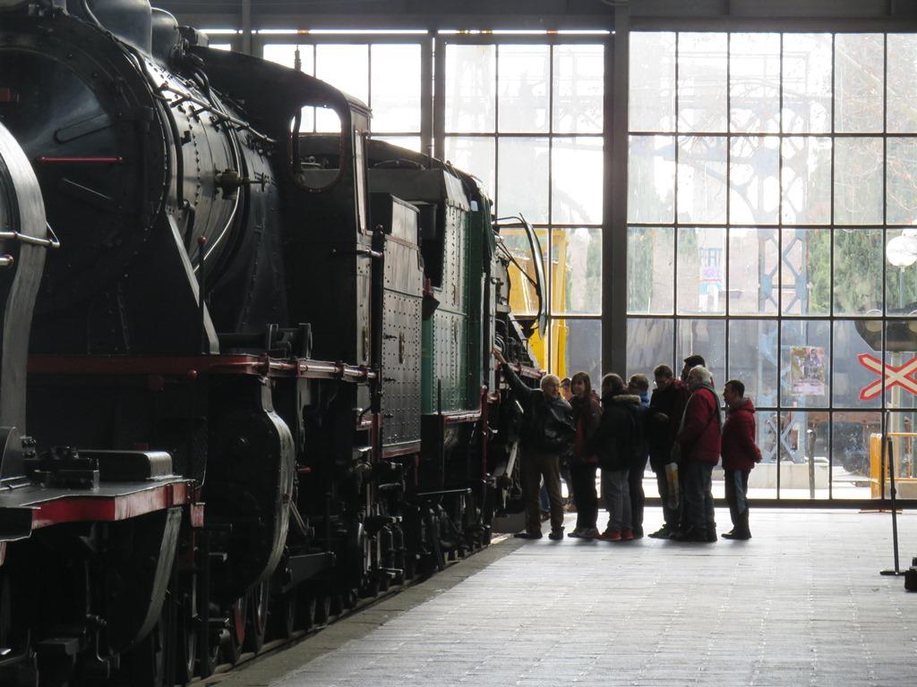 Jornadas de divulgación del tren