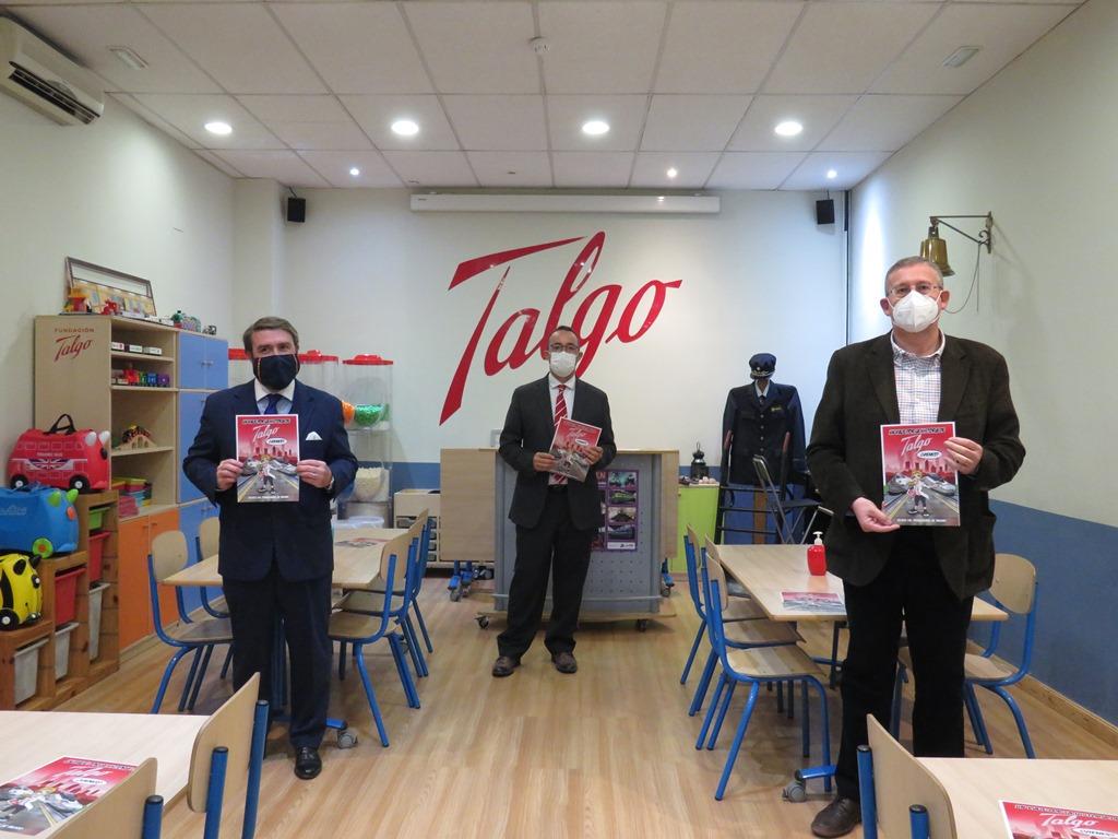El Museo y la Fundación Talgo presentan el cómic ´Un viaje por la historia de Talgo´