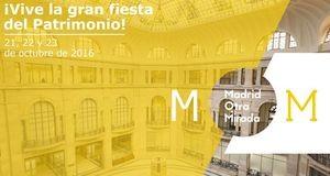 """El Museo participa en la gran fiesta del Patrimonio, """"Madrid otra Mirada"""""""