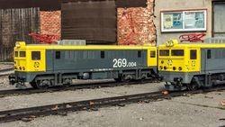 CIMAF incorpora una nueva locomotora al Ferrocarril de las Delicias