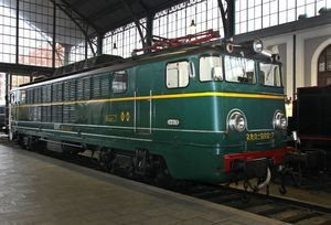 Pieza destacada: Locomotora eléctrica Renfe 280-002-7 (Ex 10002)