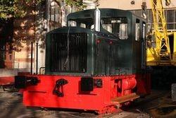 """Concluye la restauración de la locomotora de maniobras 301-012-1 (Ex 10112), """"Memé"""""""