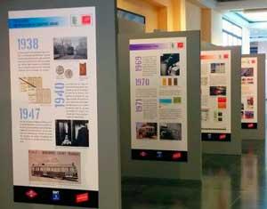 El Museo presenta una exposición que recoge la evolución del billete de transporte en los últimos 150 años
