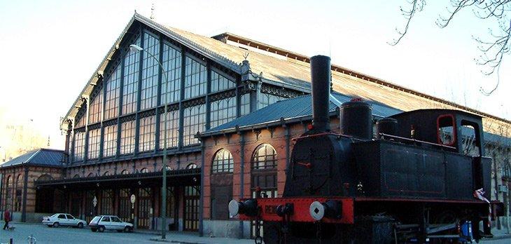El Museo del Ferrocarril de Madrid cerró 2013 con 100.967 visitantes, un 7,6 % más que en 2012