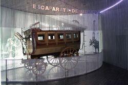 El MUNCYT de La Coruña presenta el Ómnibus del Museo, un carruaje de 1861