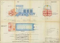 Pieza destacada Archivo Histórico Ferroviario: Máquina quitanieves 300-110
