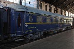 Redecoración de un coche Wagon Lits, símbolo del lujo y el glamour de los grandes viajes ferroviarios