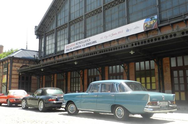 """El Museo del Ferrocarril acoge la 1ª Edición de la Feria """"EXCLUSIVO RETROCLÁSICA del automóvil y el ferrocarril"""" de Madrid"""