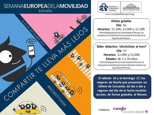 El Museo se suma a la Semana Europea de la Movilidad