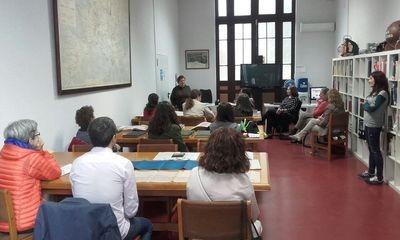 La Sociedad Española de Documentación e Información Científica visita el Museo