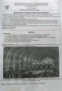 La antigua estación de Delicias, pregunta en los exámenes de Selectividad de Madrid