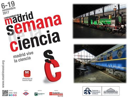 El Museo del Ferrocarril se suma a la Semana de la Ciencia de Madrid