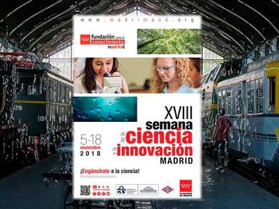 El Museo en la Semana de la Ciencia y la Innovación de Madrid