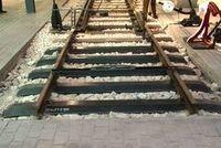 Pieza destacada: Traviesas metálicas de la Compañía Central de Aragón