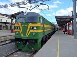 Primer viaje comercial del tren turístico Felipe II