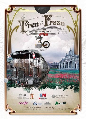 Ya está en marcha el Tren de la Fresa 2014