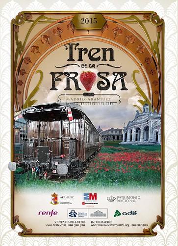 El 2 de mayo arranca el Tren de la Fresa 2015
