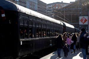 Más de cuatro mil viajeros se subieron al Tren de Navidad