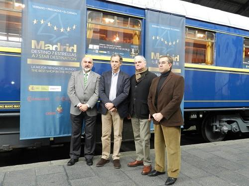 La Comunidad de Madrid apadrina un coche del Tren Prestige