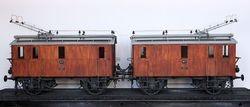 Pieza destacada: modelo de locomotoras eléctricas trifásicas número 6 y 7