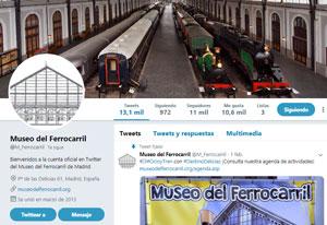 El Museo abre un perfil en la red social Twitter