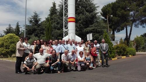 El Museo visita el Instituto de Técnica Aeroespacial