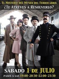 Misterio e intriga en el Museo del Ferrocarril