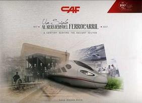 """Exposición conmemorativa CAF, """"un siglo al servicio del ferrocarril"""""""
